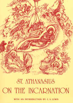 "Image: Front Cover of the Book, ""On the Incarnation"" by St. Athanasius."