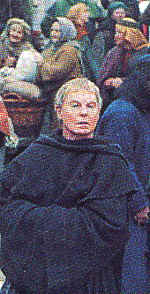 "Photo: Sir Derek Jacobi as ""Brother Cadfael."""
