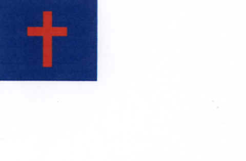 Image: The Christian Flag.