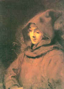 "Image: ""Titus in a Monk's Habit"" by Rembrandt Van Rijn."
