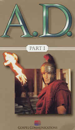 "Image: Video Front Cover of ""A.D."" Mini-Series."