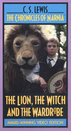 "Image: Front Cover of one of the Video Trilogy of ""The Chronicles of Narnia."""