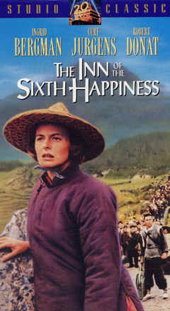 "Image: Front Cover of the Video: ""The Inn of the Sixth Happiness."""