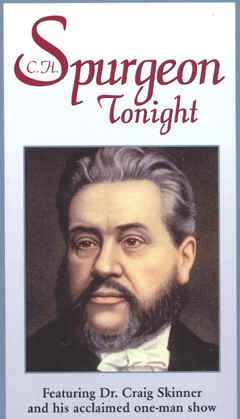"Image: Front Cover of the Video, ""Spurgeon Tonight."""