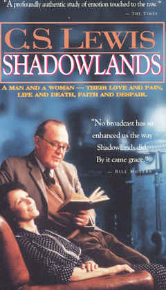 "Image: Front Cover of the Video, ""Shadowlands"" (BBC Version)."