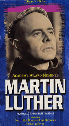"Image: Front Cover  of ""Martin Luther"" Video"
