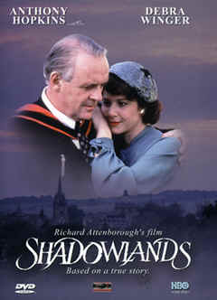 "Image: Front Cover of the DVD, ""Shadowlands"" (Theatre Version)."