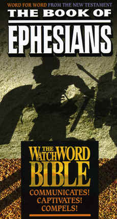 "Image: Front Cover of the Video, "" WatchWord Bible: Ephesians""."