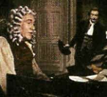 "Photo: of George Frederic Handel in the Film, ""The Great Mr. Handel""."