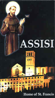 "Image: Front Cover of the Video, ""Assisi: Home of St. Francis."""