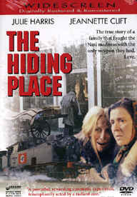 "Image: Front Cover of the DVD, ""The Hiding Place"" (Corrie ten Boom)."