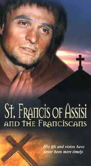 "Image: Front Cover of the Video, ""St. Francis of Assisi and the Franciscans""."