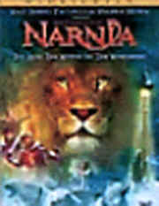 "Image: Front Cover of the DVD, ""The Chronicles of Narnia: The Lion, the Witch, and the Wardrobe."""