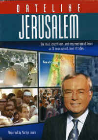 "Image: Front cover of the DVD, ""Dateline Jerusalem""."
