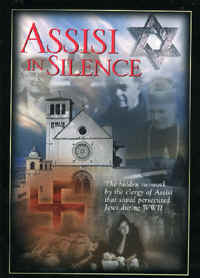 "Image: Front cover of the DVD, ""Assisi In Silence""."