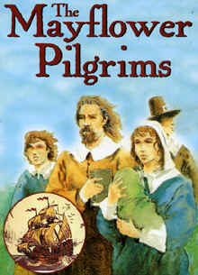 "Image: Front Cover of the DVD, ""Mayflower Pilgrims""."