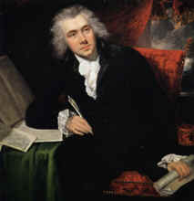 Image: Oil Painting of William Wilberforce by John Rising.  Copyright Wilberforce House, Hull City Museums and Art Galleries, U.K.  The Bridgeman Art Library.