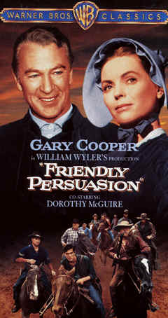 "Image: Front Cover of Video, ""Friendly Persuasion."""