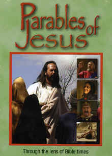 "Image: Front cover of the DVD, ""Parables of Jesus""."