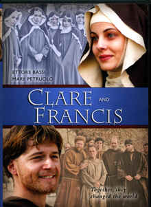 "Image: Front cover of the DVD of the Film, ""Clare and Francis""."