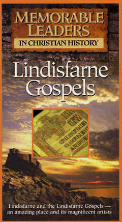 "Image: Front Cover of the Video, ""The Lindisfarne Gospels."""