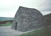 "Image: ""Gallarus Oratory""(or Gallerus),  located on the Dingle Peninsula, in western Ireland."