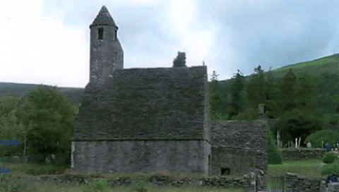 Photo: St. Kevin's Church, Glendalough, Ireland, was built in the 1100's and used for worship services through the 1800's.